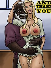 The Tight White Pussy Thank You By Illustrated Interracial
