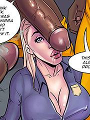 Porn interracial cartoon John Persons